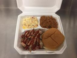 BBQ Plate or Chicken Plate with Sides Midsouth BBQ Covington TN Tipton County