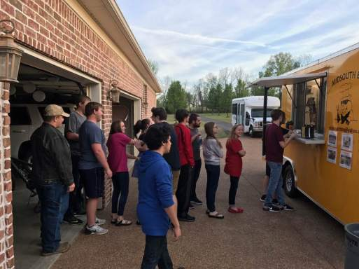 MidSouth BBQ catering Covington TN Tipton County Yellow Trailer youth