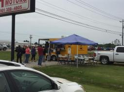 Midsouth BBQ crowd Pulled Pork Smoked BBQ Tipton County