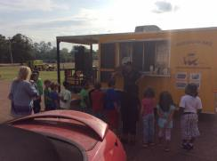 MidSouth BBQ Event Careers on Wheels Crestview Elementary School Covington TN Tipton County