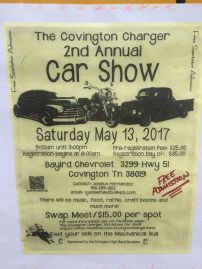 Midsouth BBQ Covington Charger Annual Car Show Bayird Chevrolet Covington TN BBQ