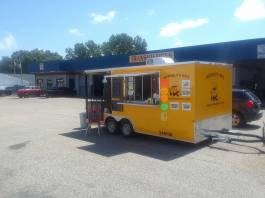 MidSouth BBQ Pulled Pork by 51 Tire Tipton County Yellow Trailer Covington TN Atoka TN