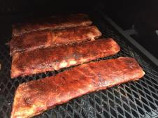 Midsouth BBQ Rib Slabs and Racks St Louis Style