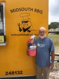 Midsouth BBQ Trailer Memorial Day Drawing Billie Bond WINNER