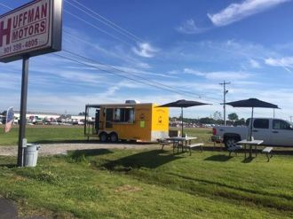 Midsouth BBQ Yellow Trailer Tipton County TN